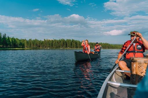 Äventyr i kanot